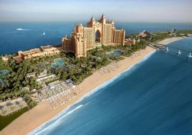Dubai utazás Atlantis The Palm Hotel