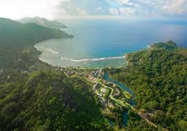 Seychelle-szigetek Mahé utazás Kempinksi Seychelles Resort