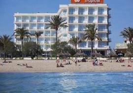 Mallorca Playa De Palma utazás Hotel Hm Tropical