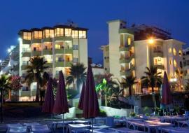 Alanya utazás Krizantem Hotel