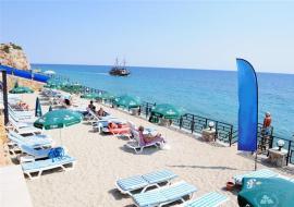 Alanya utazás White City Beach Hotel