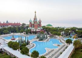 Antalya utazás Asteria Kremlin Palace