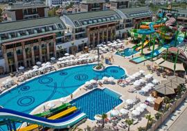 Belek utazás Crystal Water World Hotel
