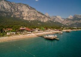 Kemer utazás Crystal Flora Beach Resort