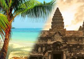 Kambodzsa Angkor és Thaiföld Koh Chang