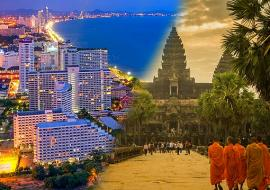 Kambodzsa Angkor és Thaiföld Pattaya