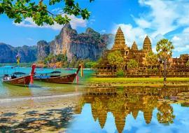 Kambodzsa Angkor és Thaiföld Phuket