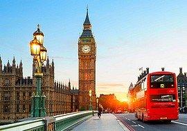 London utazás