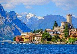akciós utazás Garda-tó